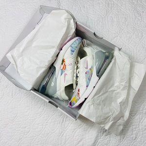 NIB Nike's Air Max 270 Summit White/Arctic Pink 9